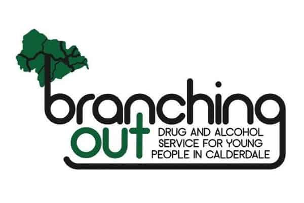branching out drug and alcohol service calderdale logo