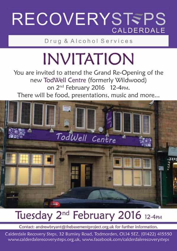 TodWell Centre Invitation